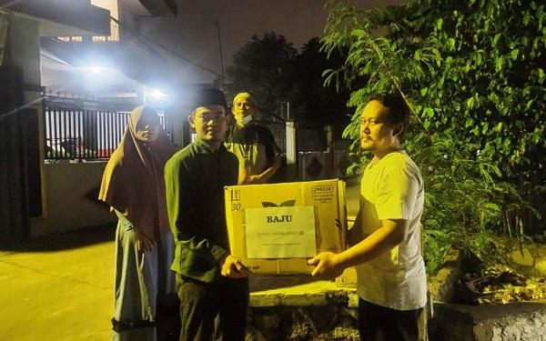 Ponpes Al-Ittihad Cianjur Salurkan Bantuan untuk Korban Banjir di Karawang