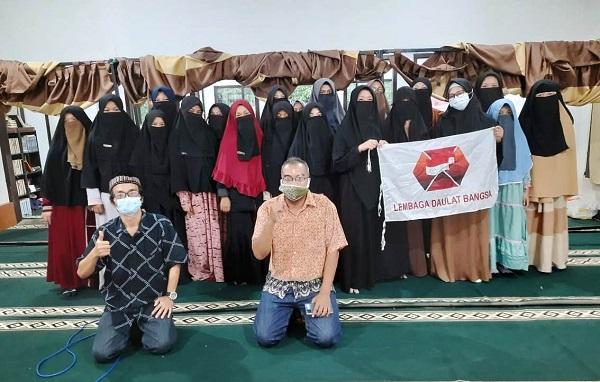 Wujudkan Umat Wasathiyah, Lembaga Daulat Bangsa Gelar Shilah Ukhuwah di Pesantren