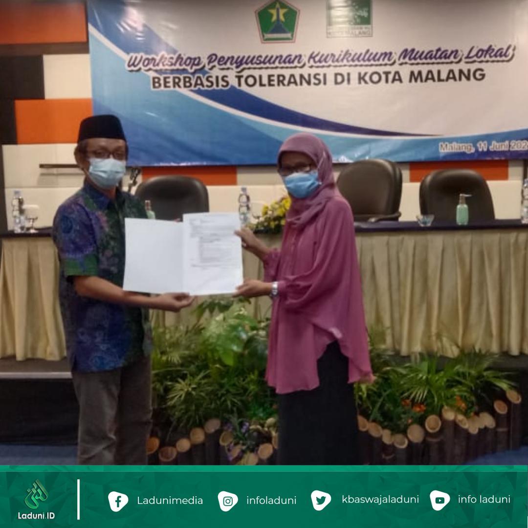 PCNU dan Dinas Pendidikan Kota Malang Susun Kurikulum Mulok Berbasis Toleransi